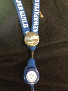 What passes for bling to workers at the Denver Post, who haven't had a raise in years. #newsmatters.