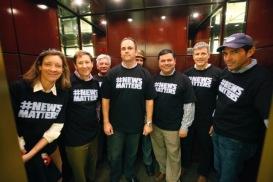San Jose Mercury News showing that #newsmatters!