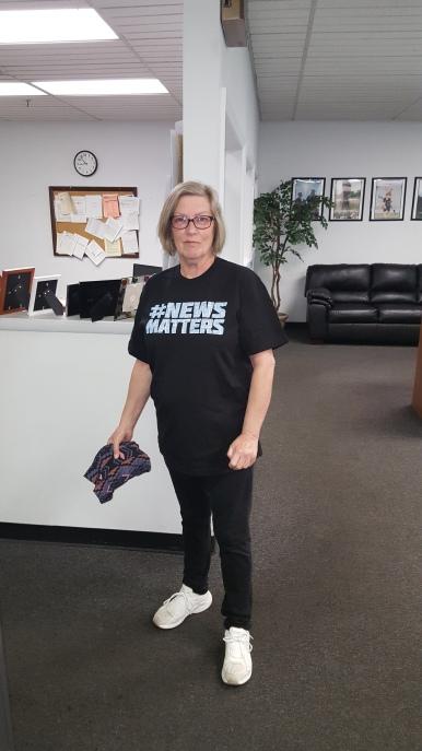 Mary Lynn Wisnewski of Delaware County Times advertising.