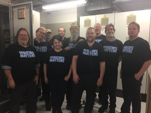 Denver's machinists and technical services department supporting the cause.