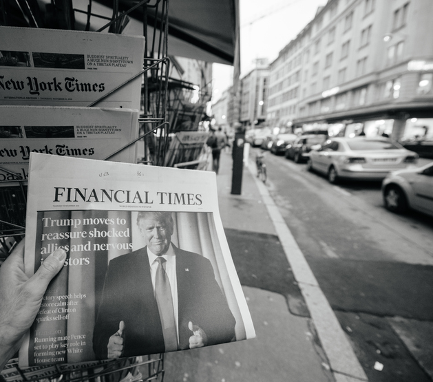 Financial Times about Donald Trump new USA president
